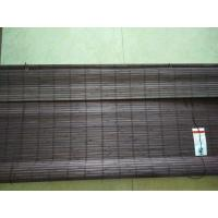 Quality Natural Grain Bamboo Vertical Blinds , Printed Bamboo Blind Insect Resistant for sale