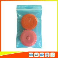 Quality Reusable Zip Lock Bags Vacuum Seal With Hanging Hole For Sample Packing for sale