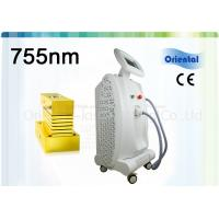 Quality Stationary Red Light 755nm Alexandrite Laser Hair Removal Machine 75kg Weight for sale