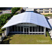 China 15x30m outdoor large clear span aluminum frame church wedding marquee tent design on sale