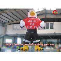 Buy cheap Oxford Gant Inflatable Cartoon Characters , Inflatable Eagle Cartoon For Advertising from wholesalers
