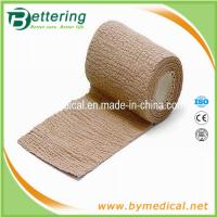 Quality Skin colour Non woven cohesive bandage coflex bandage for sale