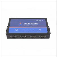 Quality [USR-N540] 4 Serial Port Ethernet converter, Modbus gateway RS232 RS485 RS422 to TCP/IP converter for sale