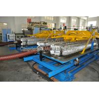 Buy cheap PVC Steel Wire Reinforced Pipe Extrusion Line With 1 Year Warranty from wholesalers