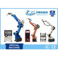 Quality 6 AXIS TIG / MIG Welder Industrial Welding Robots , Arc Welding Robotic Arm for sale
