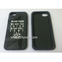 Quality Custom soft silicone with company logo phone case promotional silicone phone cover custom for sale