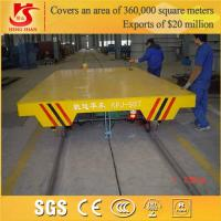 Quality Industrial Rail Mounted Flat Trolley & Flat Bed Trolley for sale