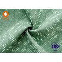 China Anti Slip Pvc Backed Polyester Fabric Comfortable High Strength For Carpet Rug on sale