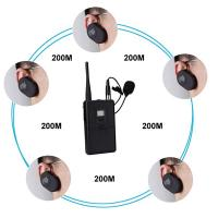 Quality WUS2412 convenient electronic tour guide/wireless tour guide system for sale