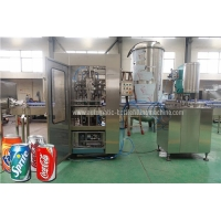 Quality SUS304 Carbonated  Beer Can Filler Seamer Accurte Mixing Proportion for sale
