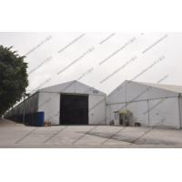 Quality 5m Height Warehouse Storage Tent Flame Retardance White With PVC Roof Cover for sale