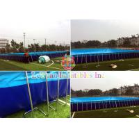 Quality Durable Custom Inflatable Pool / Large Inflatable Pool Rust Resistant for sale