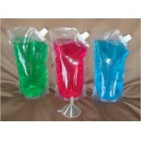 Quality Taste Proof Clear Alcohol / Milk / Beverage Rum Runners Flask With Funnel for sale