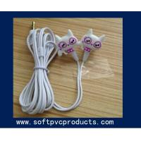 Quality Eco-friendly Cute Cartoon Earphone Cord Holders Mobile Accessories Cable Winders for sale