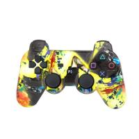 Quality ABS Material Bluetooth Game Controller, Ps3 Controller JoystickPressure Sensitive Buttons for sale