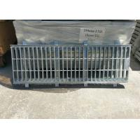 Quality Rectangular Galvanised Steel Drain Covers Big Mesh Good Rust Protection for sale