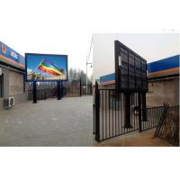 China Commercial P10 Outdoor Full Color LED Display With Iron / Aluminum Cabinet on sale