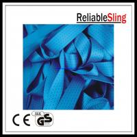 Quality High strength Polyester Blue Ratchet Strap Webbing roll Custom 5T for sale