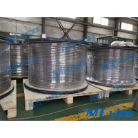 Quality Super Long Welded Coiled Tubing  9.53*1.24mm Alloy 825 Nickel Alloy for sale