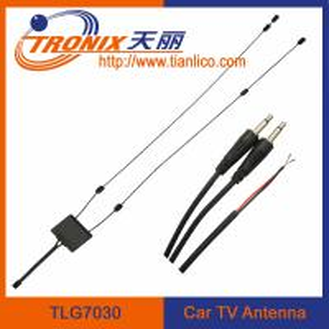 Best black digital glass mount car tv antenna wholesale
