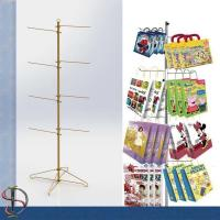 China Hook tree stand for paper bags / Metal hooks display stand / Bags display rack / POP display stand on sale