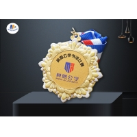 Zinc Alloy Medal For Your Events Colorful Painting On Raised 3D Surface for sale