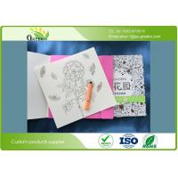 Quality 400grams Paperboard Cover Adults Coloring Books for Education Institutions for sale