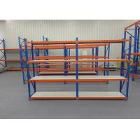 China Steel Material Light Duty Storage Rack With Powder Coating Surface Treatment on sale