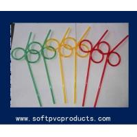 Quality Colorful Customized Drinking Straw Holder / Flexible Drinking Straws for Bar for sale
