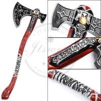 China 32.7 Video Game God Of War Cosplay Weapon Kratos Leviathan Axe on sale