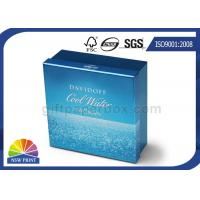 Best UV Ink Printing Metallic Rigid Paper Box Packaging for Cosmetics , Gifts , Cigarettes wholesale