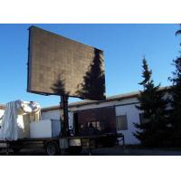 Quality P16 Outdoor Full color Advertising commercial led displays Screen 64 * 48 dot for sale