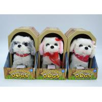 Quality Electronic Children's Moving Puppy Toy , Toy Walking Dogs That Bark And Walk for sale