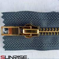 China factory wholesale metal zipper manufacture with aluminum zipper on sale