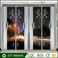 China Decorative glass Aluminum partition wall sliding door for sales on sale