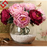 Quality Floral Flower Artificial Silk Flower Christmas Decoration for sale