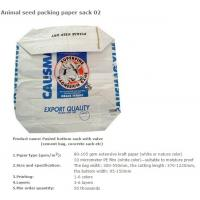 Quality Animal seed packing paper sac, BBQ fuel packing bag, Animal seed packing paper sack, CHARCOAL, ANIMAL FEED, DEXTROSE, ME for sale