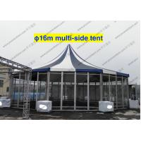 Quality PVC Fabric Polygon Tent Multi - Side , ISO 9001 Approved Pagoda Canopy Tent for sale