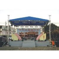 Quality Aluminum Space Stage Lighting Truss Structure 4 Pillar Truss Stand For Concert Event for sale