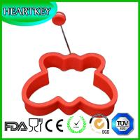 Quality Difference shape silicone rubber egg ring and Heart Shape Silicone Egg Ring Cutting Tools for sale