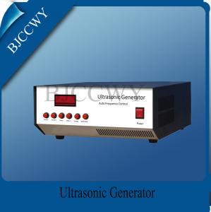 Low Frequency Digital Ultrasonic Generator 20 - 40KHZ 1200W Ultrasonic Power Generator