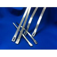 Quality Width 10mm Releasable Stainless Steel Cable Ties For Shipbuilding Industry for sale