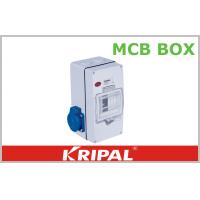 Quality Compact 4 Pole MCB Distribution Box for Agriculture / Construction Sites for sale