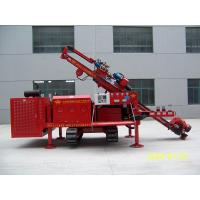 Quality MDL-160E Three Head Clamping Crawler Anchor Drilling Rig Drill Rig Machine Simple Operation for sale