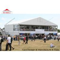 Quality Classic Outdoor Event Tent / Double Decker Tent with Veranda 20M - 30M for sale