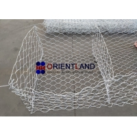 Buy cheap HDG 80x100mm Woven 3.0mm Gabion Wire Baskets from wholesalers