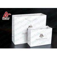 Best Two Sizes Branded Custom Printed Paper Bags Promotional Use OEM / ODM wholesale