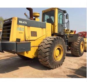Quality Wa470-3 Wheel Loader 230KW Used  Machine for sale