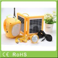 Best High capacity quality rechargeable LED solar lantern with bulbs for emergency wholesale