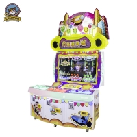 Quality Amusenment Park Fun Crazy Toy City Kids Pitching Machine for sale